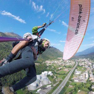 paragliding lugano